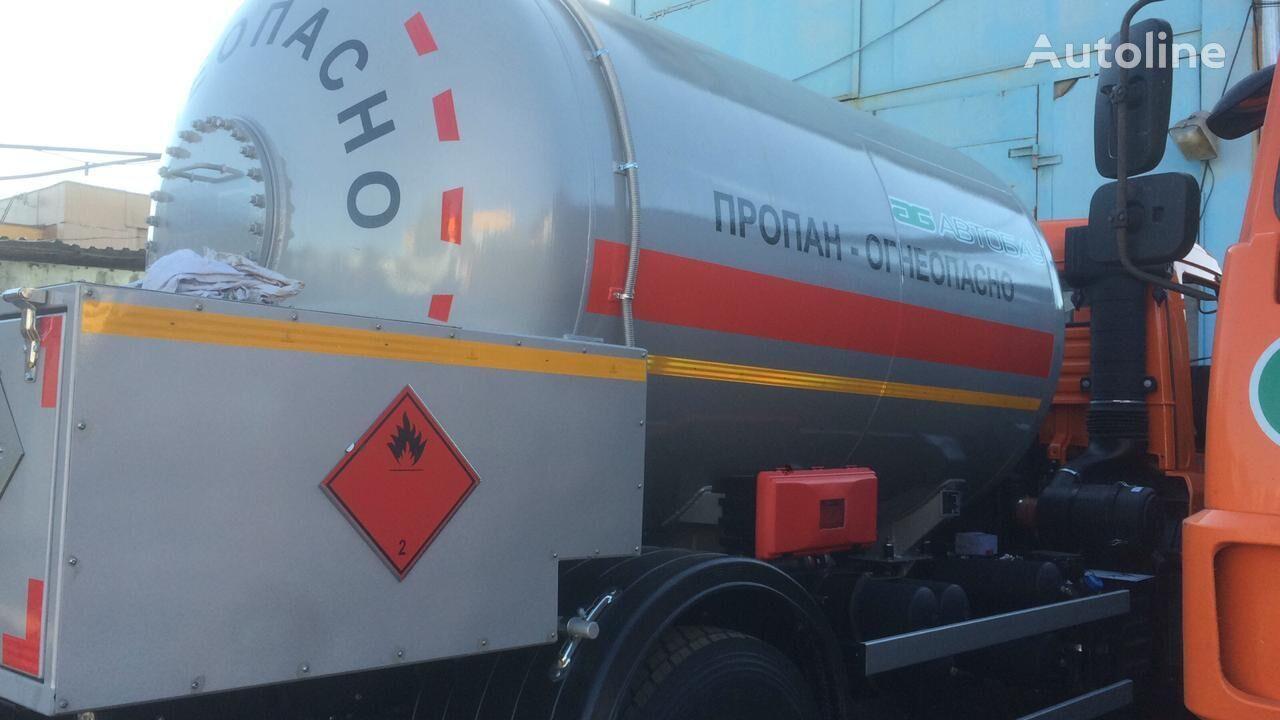 KAMAZ 43253 gas truck