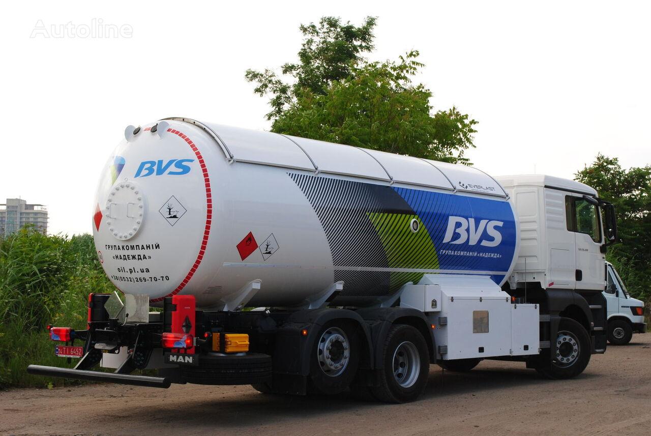 new MAN Everlast gas truck