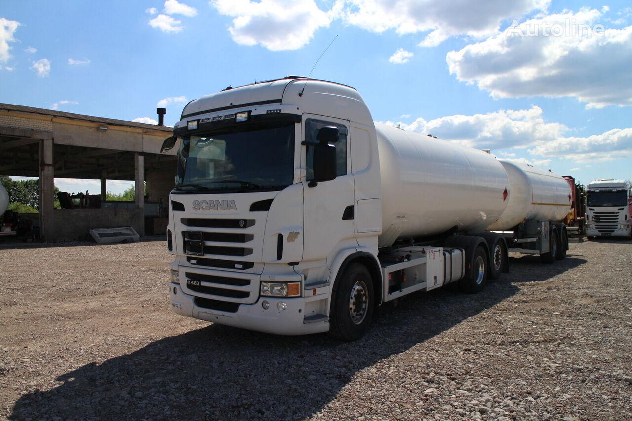 SCANIA R480 gas truck