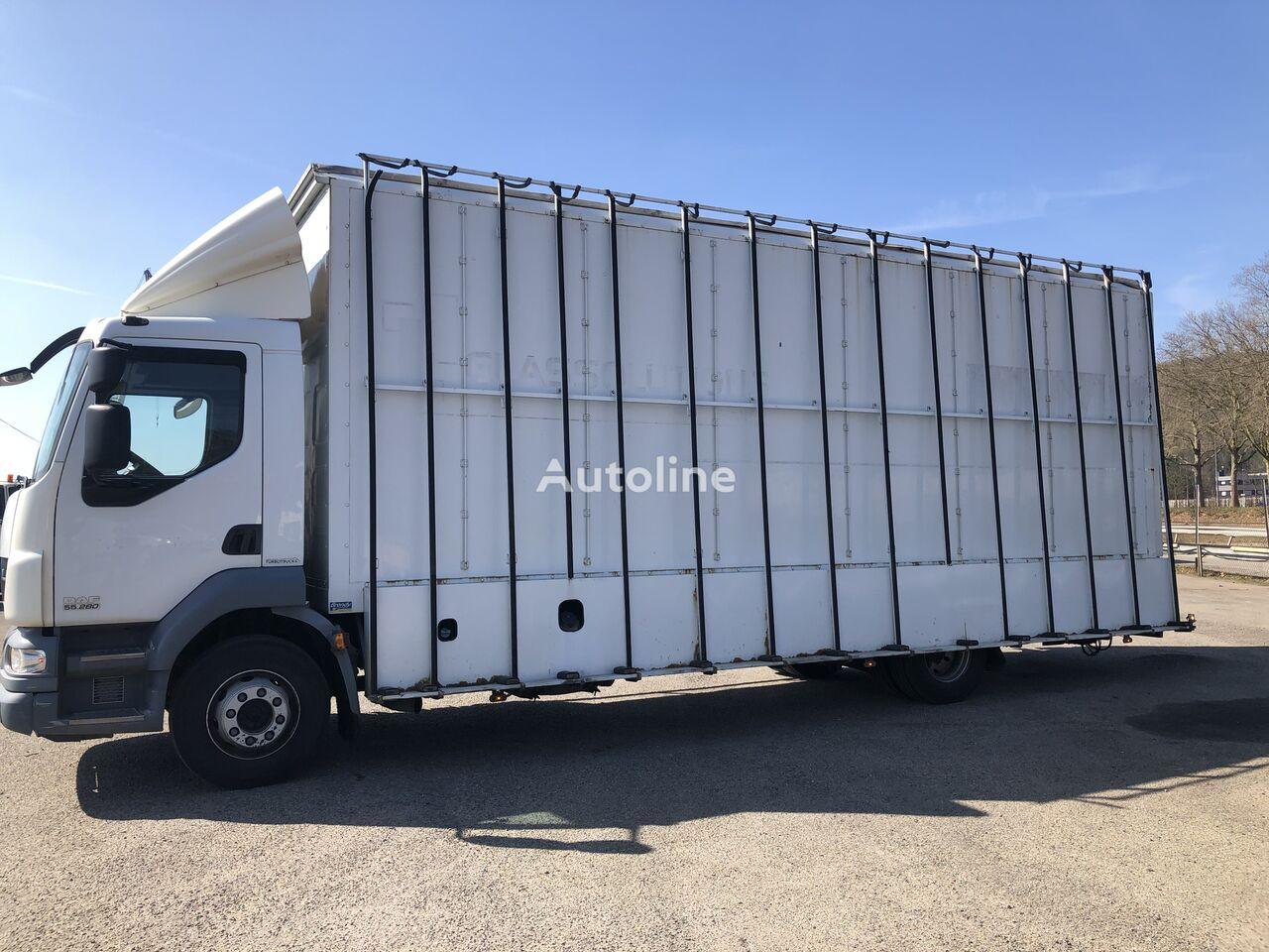 DAF LF 55.280 glass transport truck