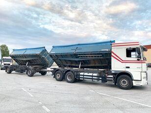 DAF XF105.460 3-Seiten GETREIDEKIPPER+ANHÄNGER // NEUE KUPPLUNG ..:: grain truck + grain trailer