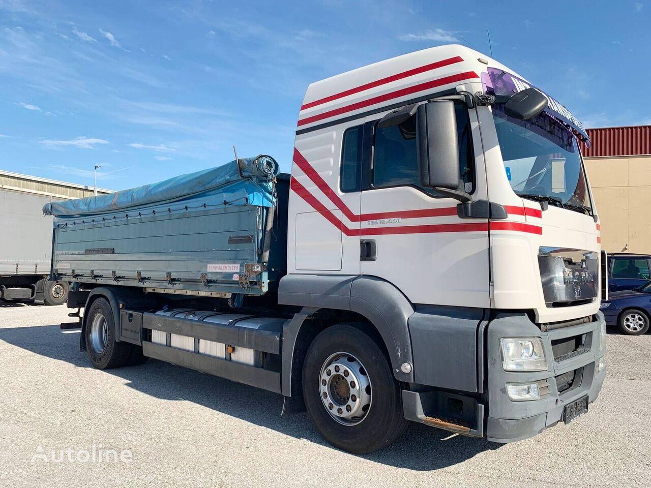 MAN 18.440  4x2 / 3-Seiten GETREIDEKIPPER/ INTARDER/ PALETTENBREITE grain truck