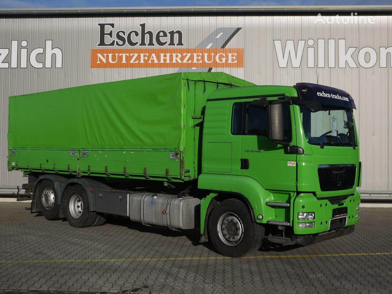 MAN TGS 26.400BL,  6x2, Automatik, Euro 5, Obj.-Nr.: 0486/20 grain truck
