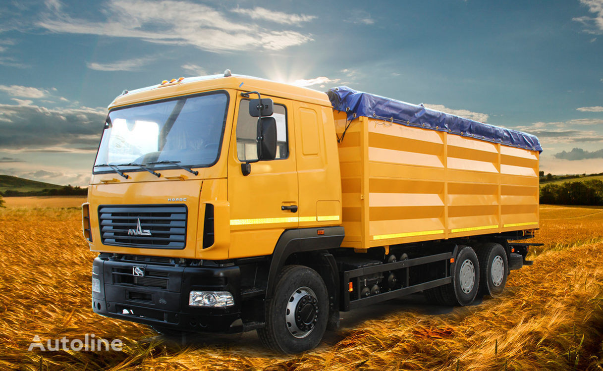 new MAZ grain truck