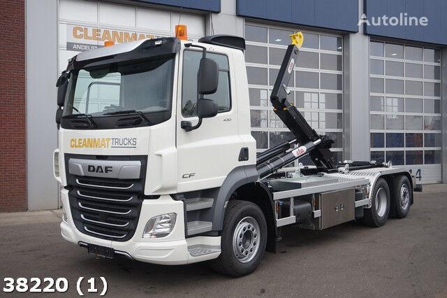 DAF FAN CF 430 6x2 hook lift truck