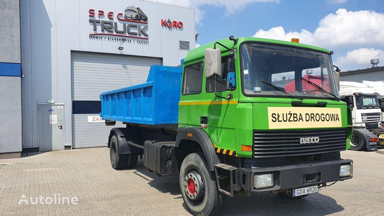 IVECO Turbostar 360, 4x2 Tipper, Full Steel,Cooled Water-M hook lift truck