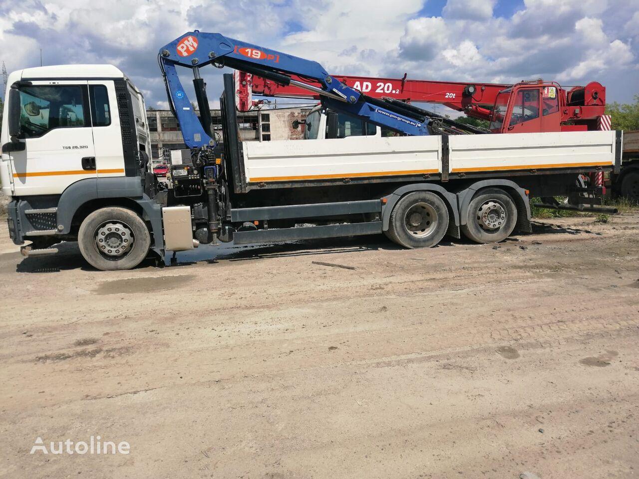 MAN TGS 26.320 hook lift truck