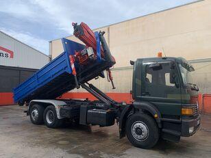MERCEDES-BENZ ATEGO 2628 GRUA FASSI 190 + GANCHO hook lift truck