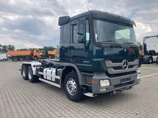 MERCEDES-BENZ Actros 2644 E3 6x4 RK 20.67 hook lift truck