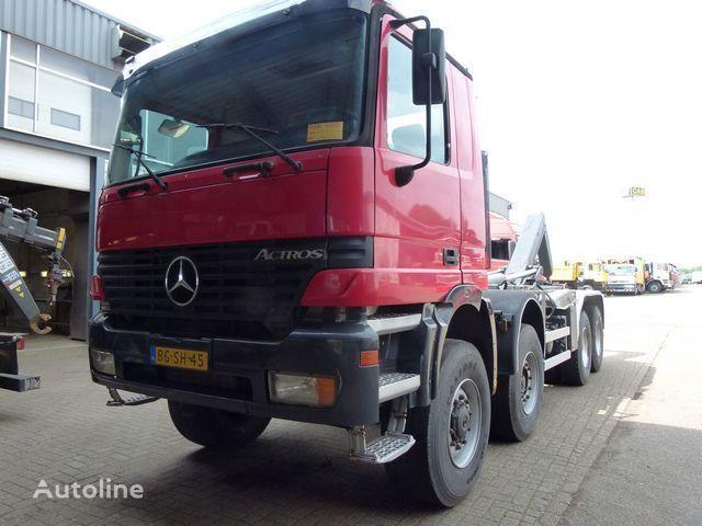 MERCEDES-BENZ Actros 4140 AK/8X6/4 - Telligent 3 pedals hook lift truck