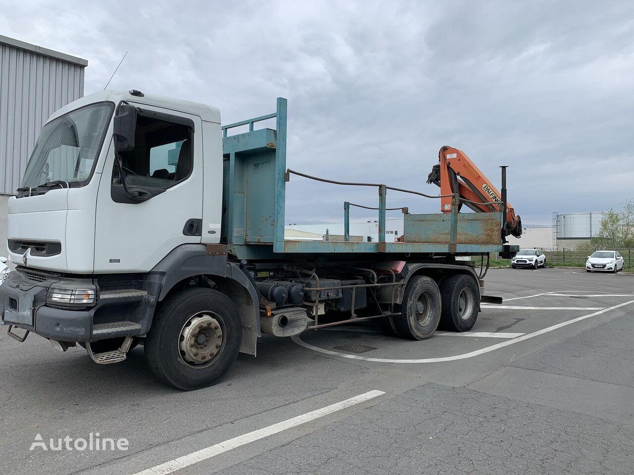 RENAULT KERAX 400 AMPLIROLL hook lift truck