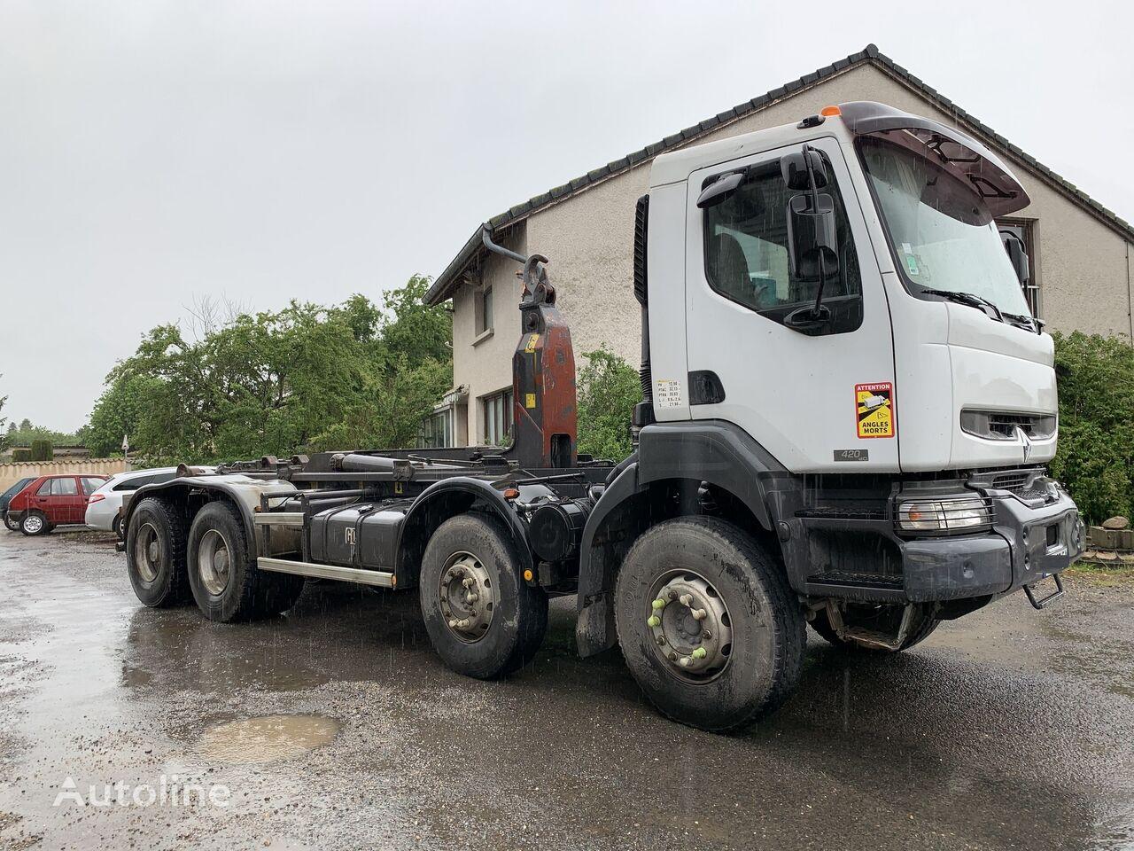 RENAULT KERAX 420 DCI AMPLIROLL hook lift truck