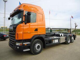 SCANIA G 420 hook lift truck