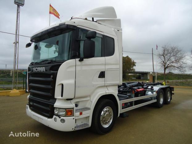 SCANIA R 480 hook lift truck