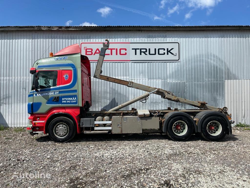 SCANIA R500 hook lift truck