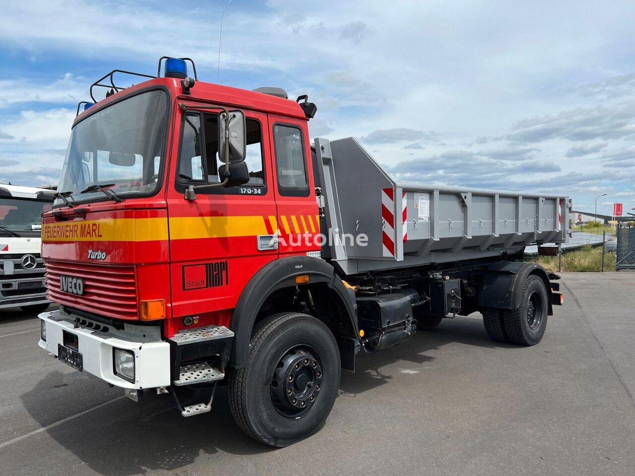 IVECO 170-34 hook lift truck