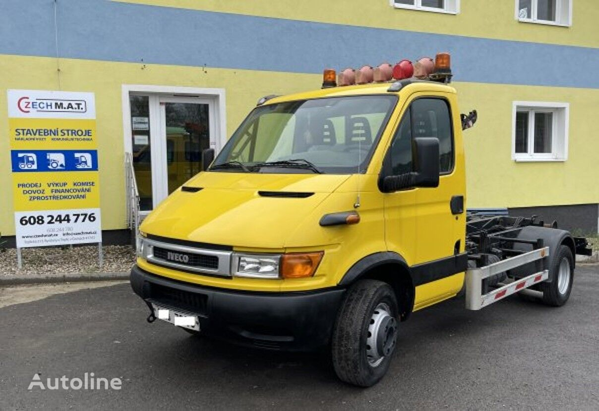 IVECO 65 C15 +CTS 3038 (6.5t hook lift truck