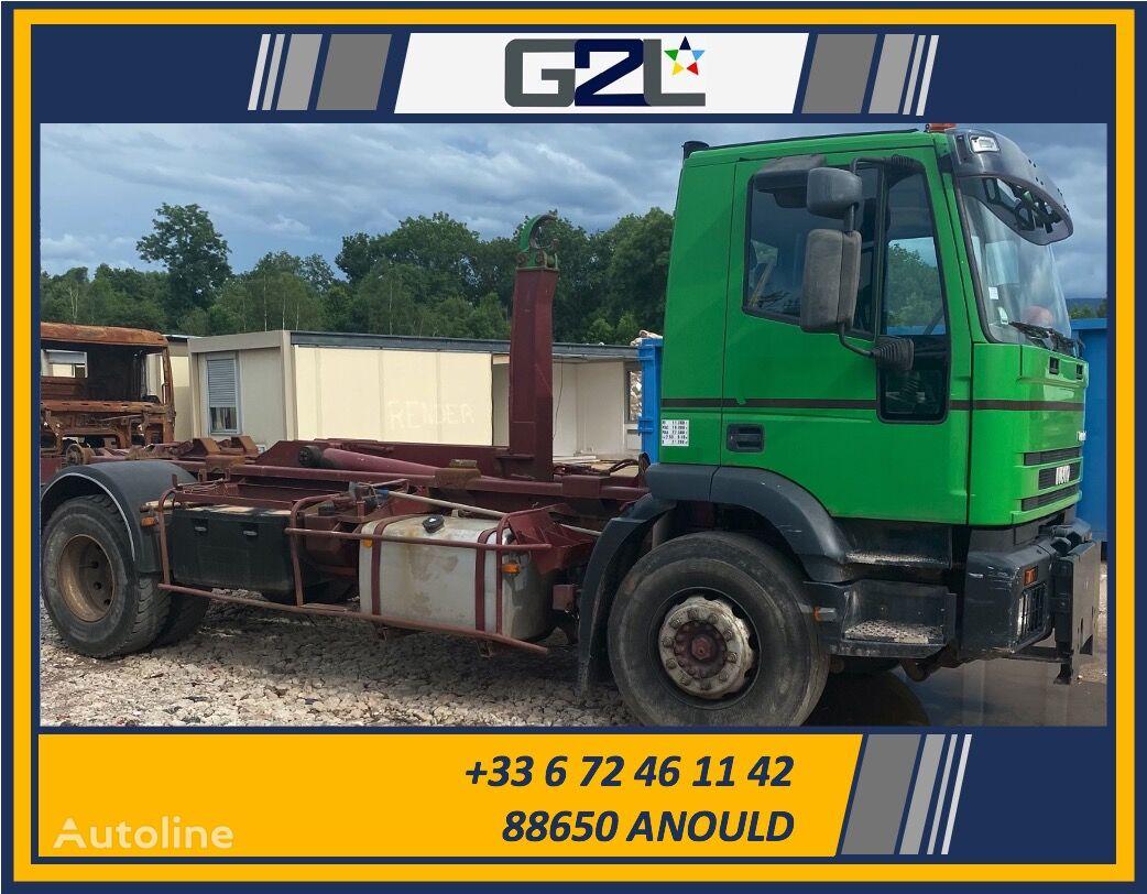 IVECO CURSOR 270 EUROTECH AMPLIROLL hook lift truck