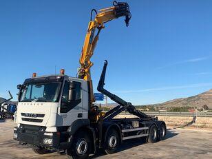 IVECO TRAKKER AD340T45 hook lift truck