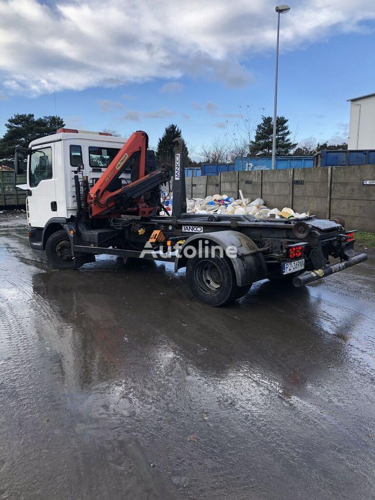 MAN 12 240 hook lift truck