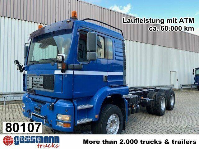 MAN TGA 26.483 6x4 FDLK, Winterdienstausstattung hook lift truck