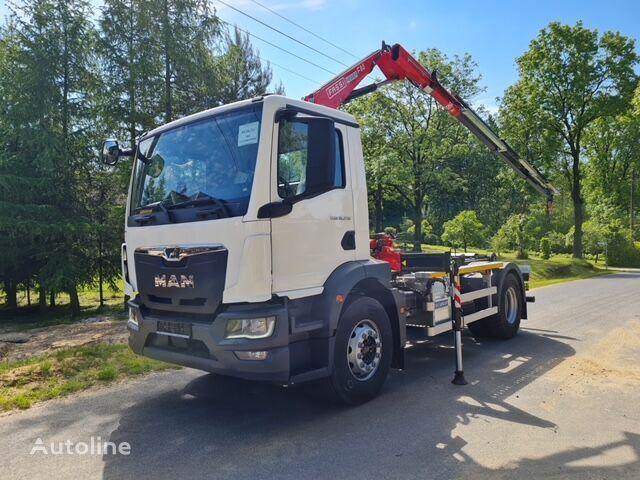 new MAN TGM18.250 hook lift truck