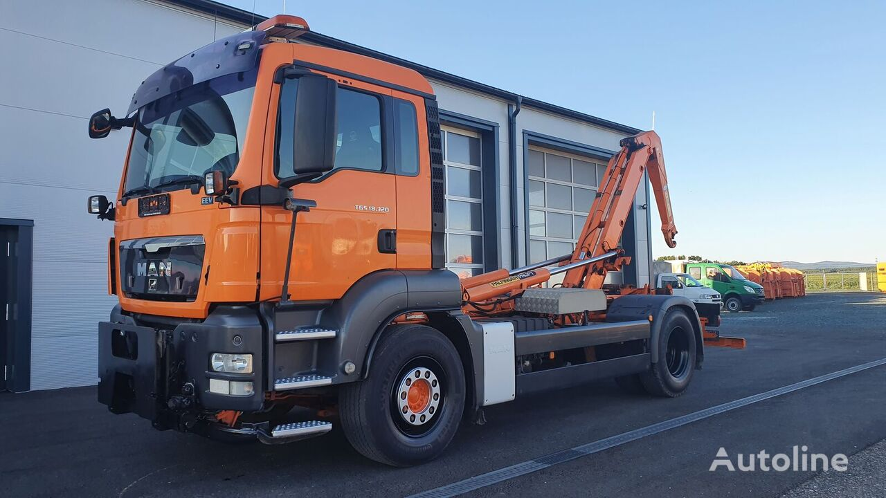 MAN TGS 18.320 4x2 BL Euro5 EEV PALIFT Winterdienst hook lift truck