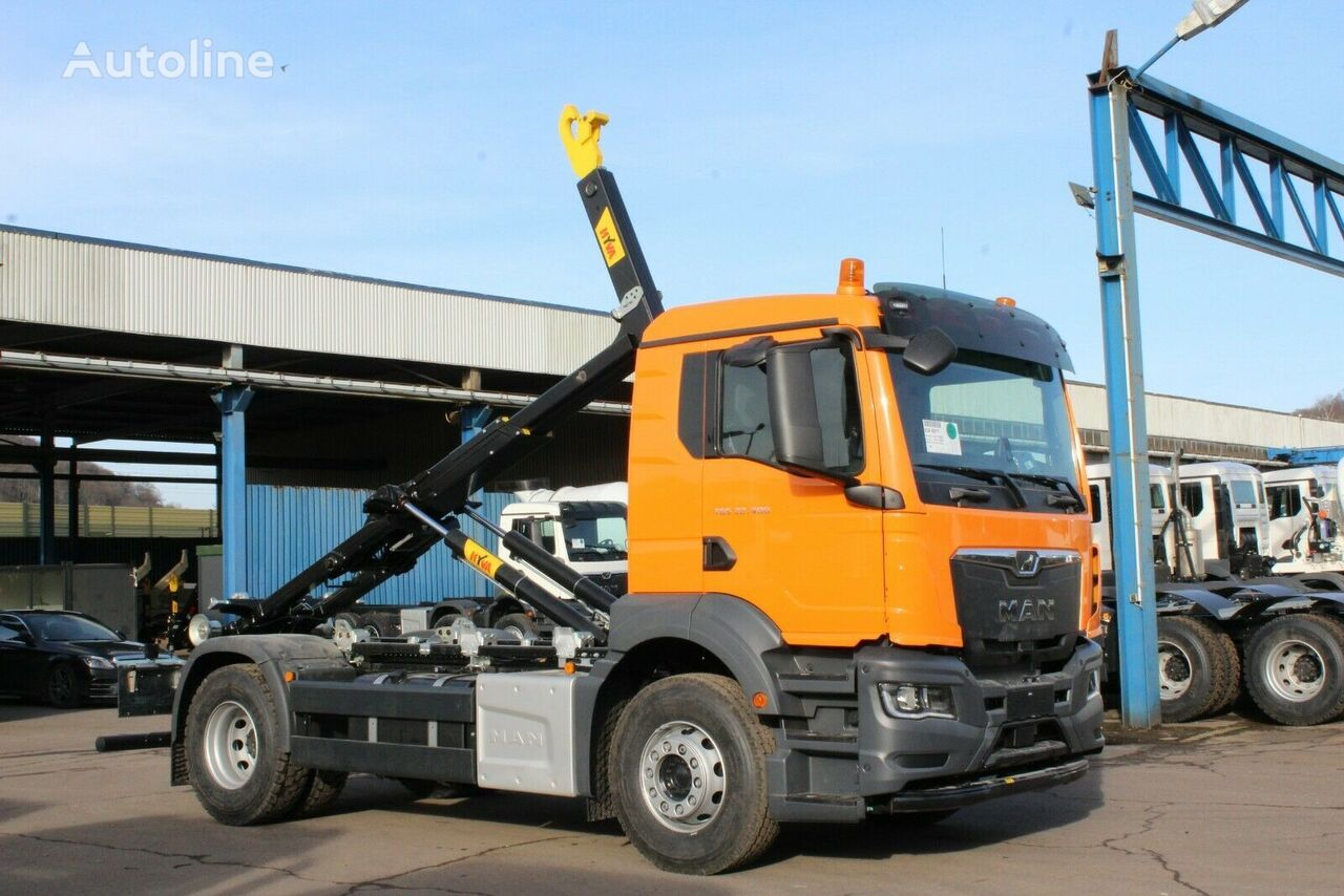 new MAN TGS 22.400 TG3  hook lift truck