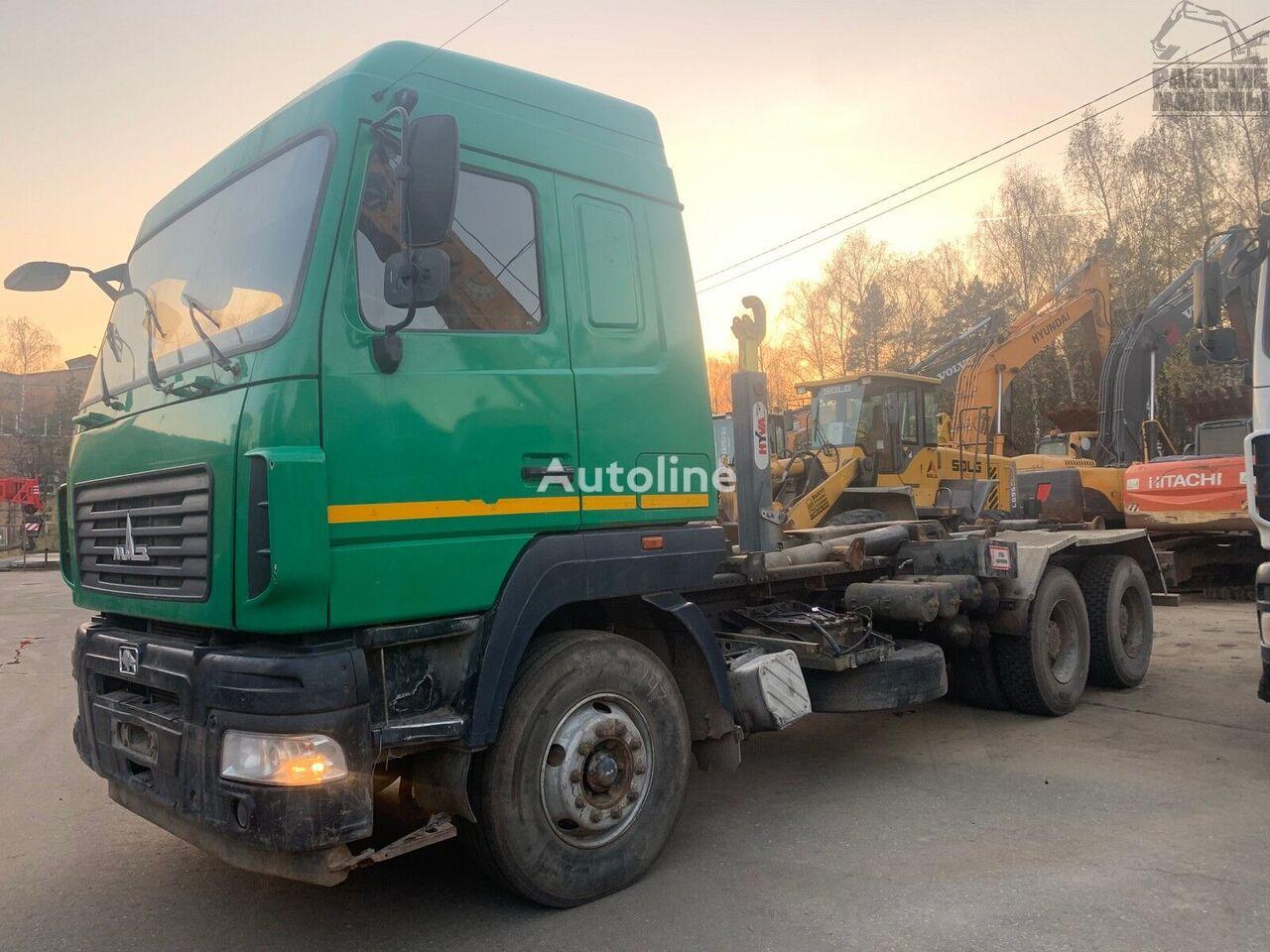 MAZ 6312v9 hook lift truck