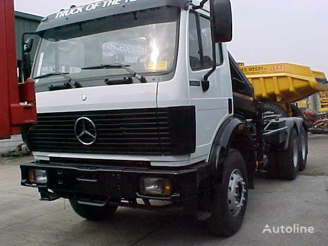 MERCEDES-BENZ 2629 K 6x4 Haak + kraan hook lift truck