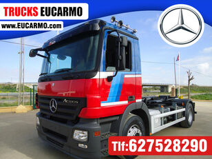 MERCEDES-BENZ ACTROS 18 32 hook lift truck