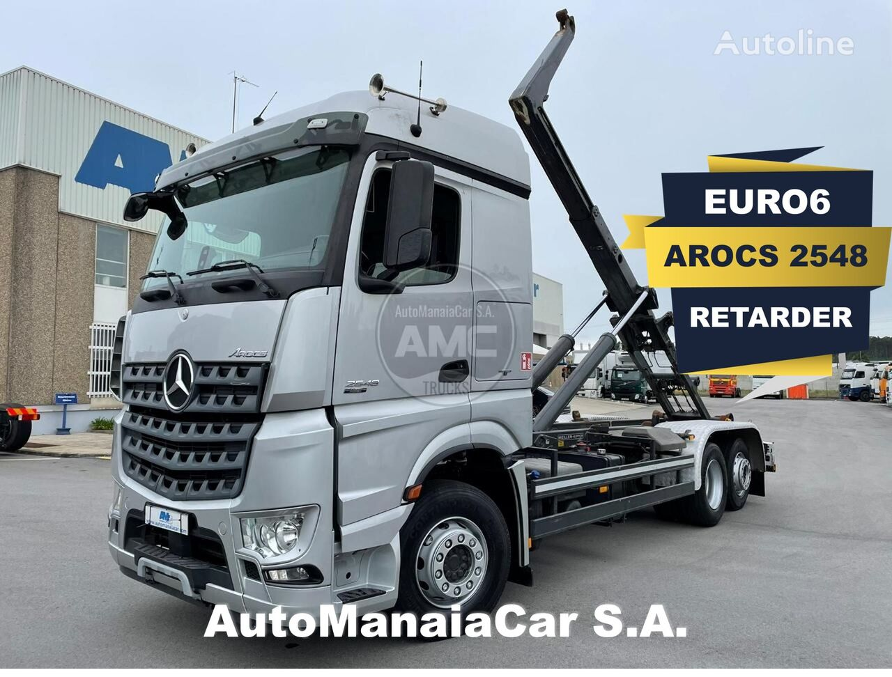 MERCEDES-BENZ AROCS 2548 hook lift truck