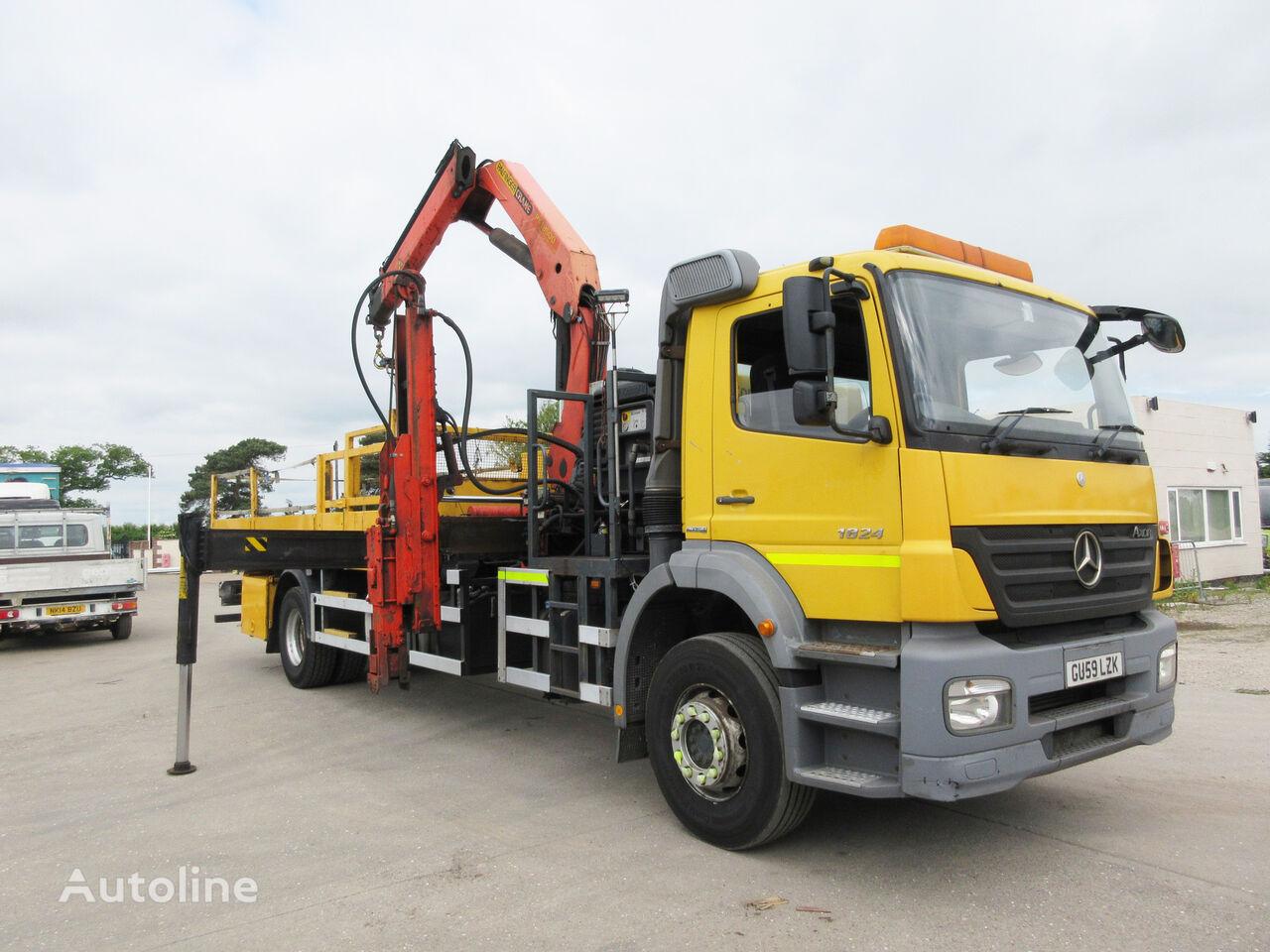 MERCEDES-BENZ AXOR 1824 hook lift truck