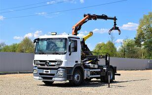 MERCEDES-BENZ Actros 1844 Abrollkipper + PK7001-EHA + FUNK ! hook lift truck