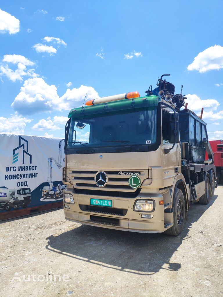 MERCEDES-BENZ Actros 2541 hook lift truck