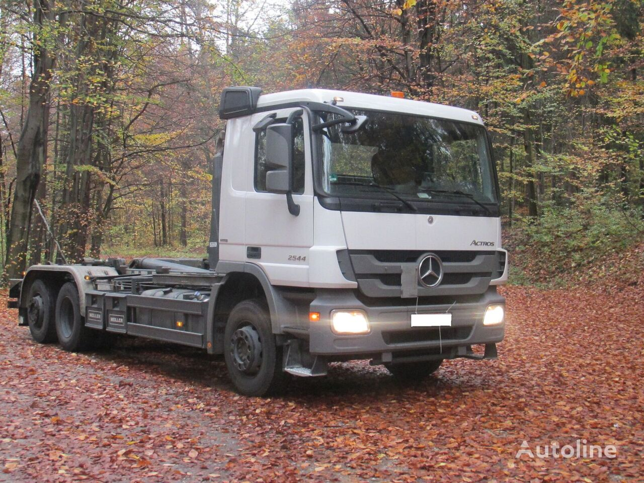 MERCEDES-BENZ Actros 2541L 6x2 WYNAJEM, GWARANCJA, umowa serwisowa hook lift truck