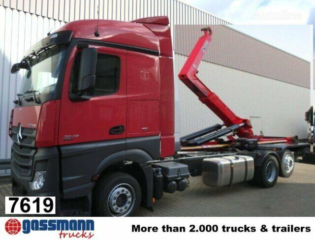 new MERCEDES-BENZ Actros 2545L hook lift truck