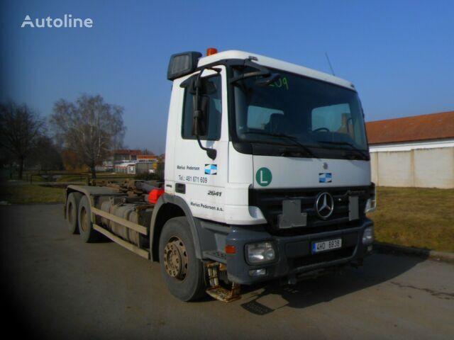 MERCEDES-BENZ Actros 2641 6x4 hook lift truck