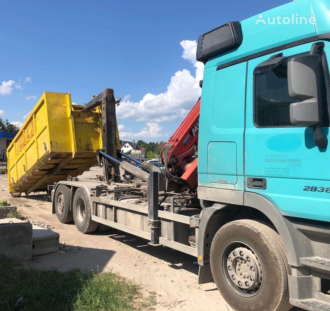 MERCEDES-BENZ  Actros 2836 Hook Meiller 20T hook lift truck