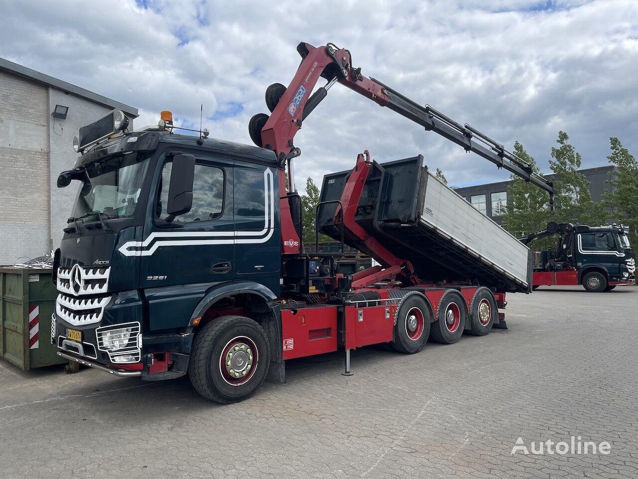 MERCEDES-BENZ Arocs 3251 hook lift truck