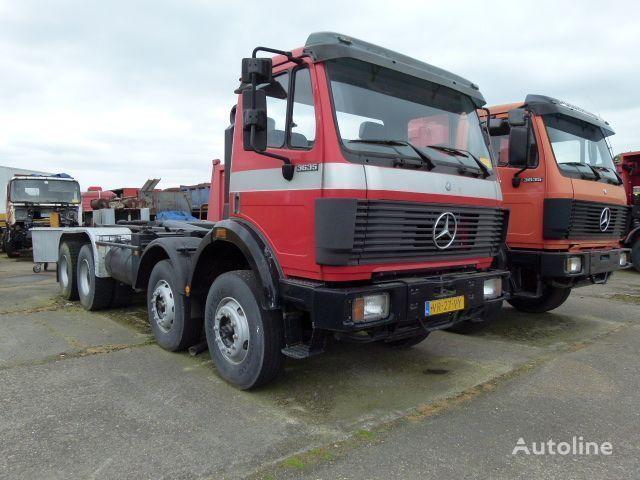 MERCEDES-BENZ SK - 3635 K / 8x4 hook lift truck