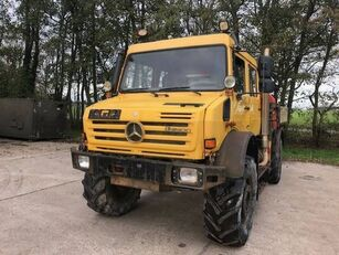 MERCEDES-BENZ Unimog U5000 hook lift truck