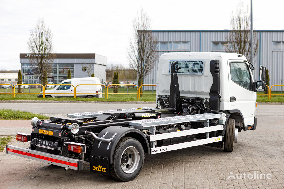 new Mitsubishi Fuso 9C18 AMT + KING HZ6R hook lift truck