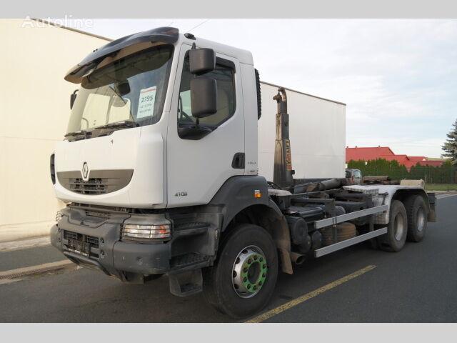 RENAULT KERAX 410.26 PR 6X4 EURO 4 hákový nosič kontejnerů hook lift truck