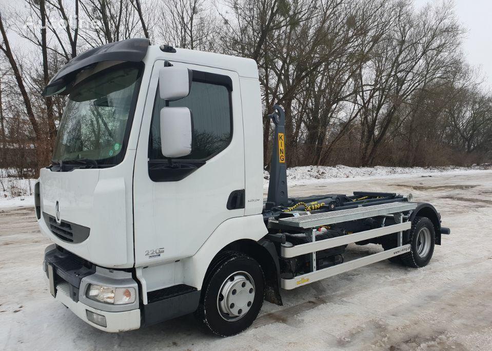 RENAULT MIDLUM 220 hook lift truck