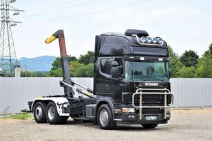 SCANIA 164 L - 480 Abrollkipper 5,30m* Top Zustand! hook lift truck