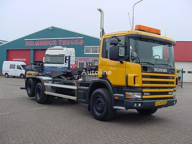 SCANIA P114 340 EURO 3 hook lift truck
