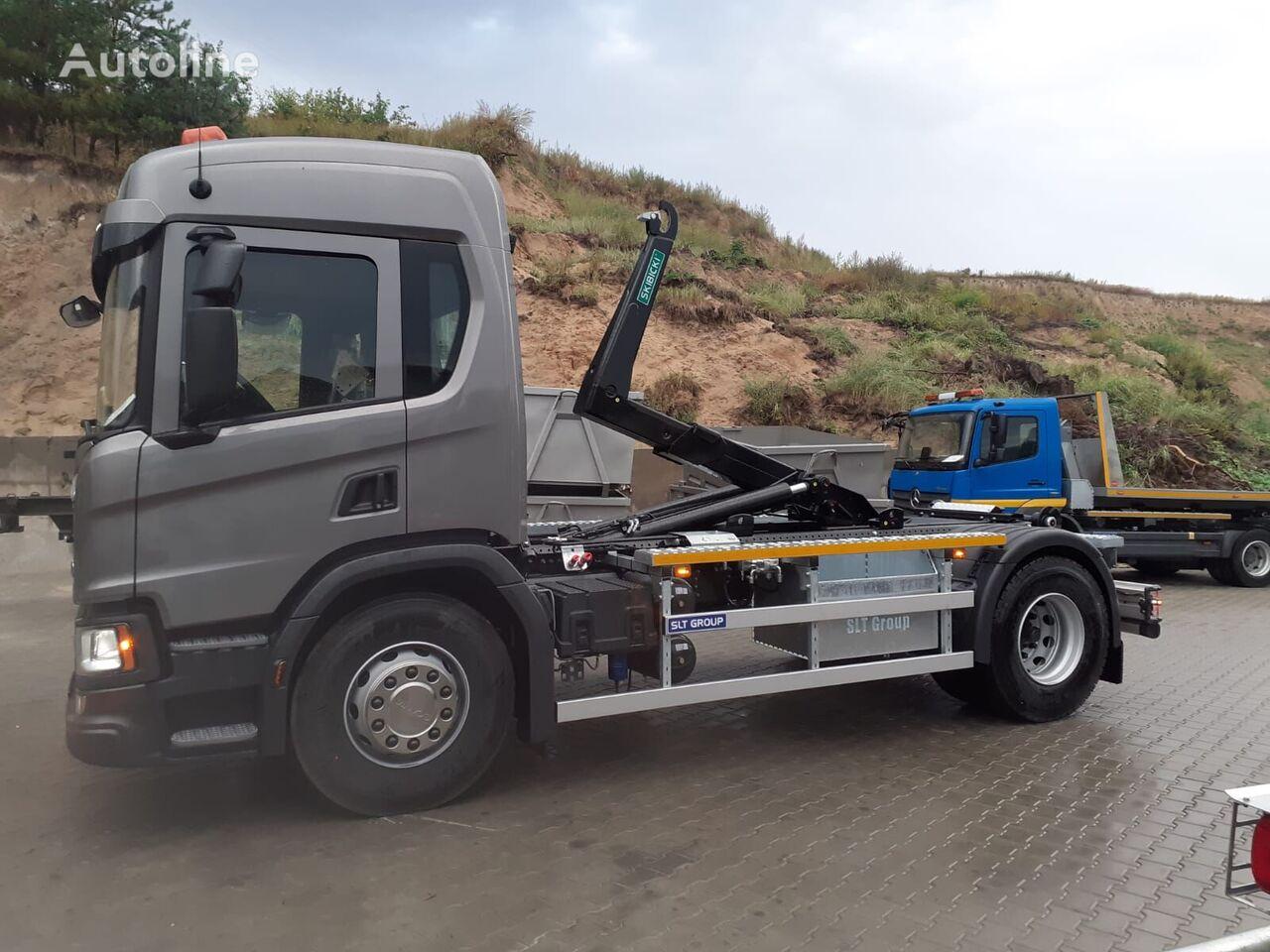 new SCANIA P280 XT hook lift truck