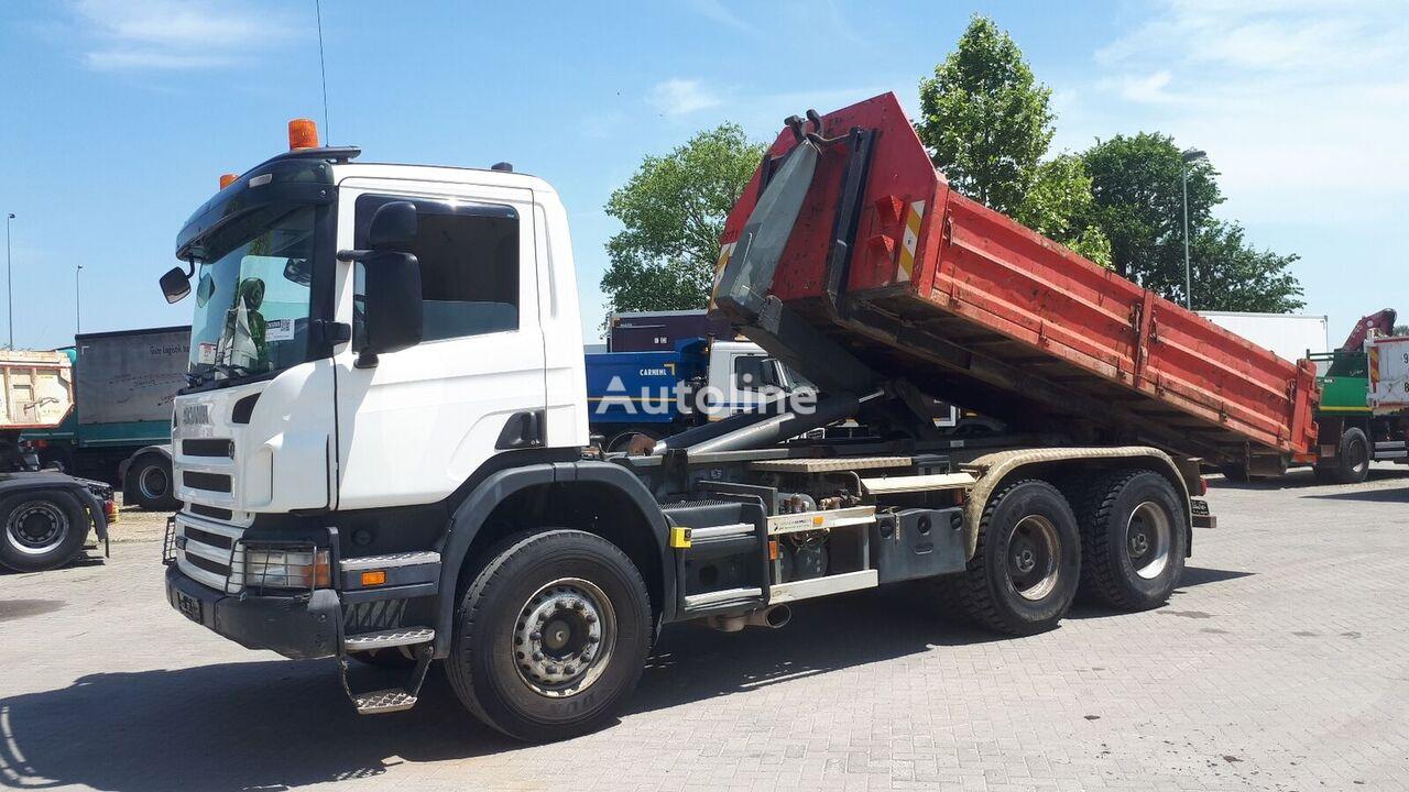 SCANIA P340 6X4 / EU BREIF hook lift truck