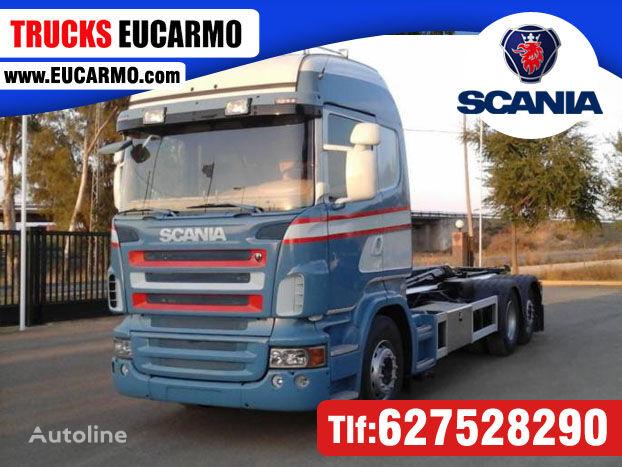 SCANIA R 440 hook lift truck